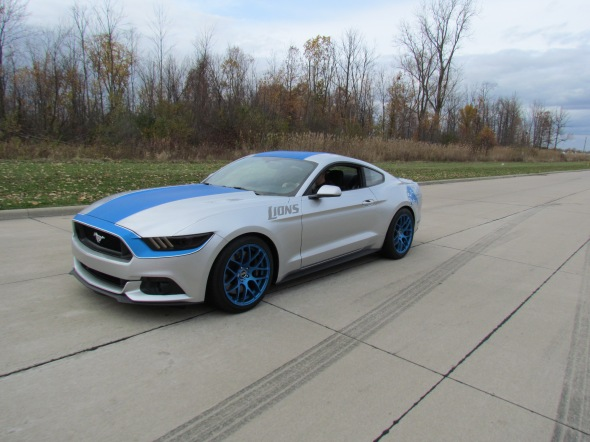 Lions Edition 2015 Mustang by Ice Nine